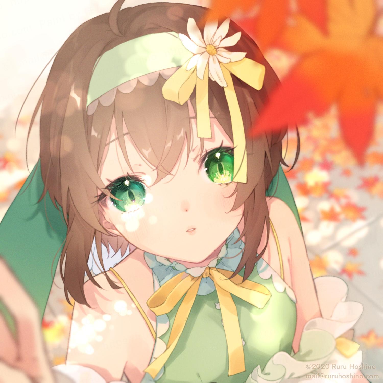 【茶茂なあ】秋のかわいいなあちゃん